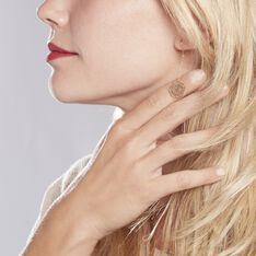 Boucles D'oreilles Pendantes Mauricienne Or Jaune - Boucles d'oreilles Pendantes Femme | Marc Orian