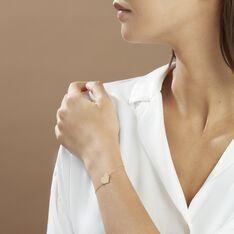 Bracelet Coeur Gravable Or Jaune - Bracelets chaînes Femme | Marc Orian
