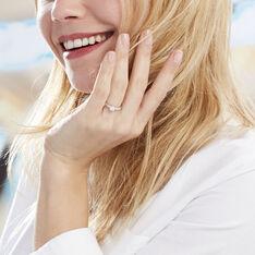 Bague Praya Or Blanc Diamant - Parure de mariage Femme | Marc Orian