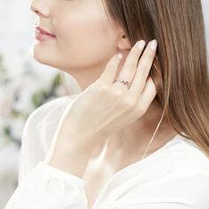Bague Amarylis Or Blanc Rubis Diamant - Bagues Femme | Marc Orian