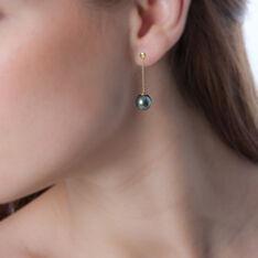 Boucles D'oreilles Or Jaune  Perle - Clous d'oreilles Femme | Marc Orian