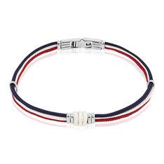 Bracelet Jourdan Acier Cordon - Bracelets cordons Homme | Marc Orian