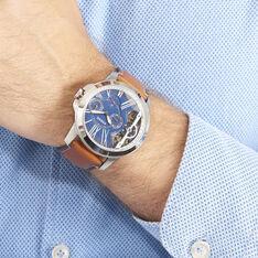 Montre Fossil Grant Twist Bleu - Montres automatique Homme | Marc Orian