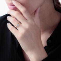 Bague Shahinez Or Jaune Oxyde De Zirconium - Bagues Solitaire Femme | Marc Orian