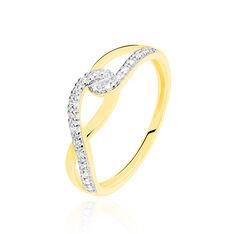 Bague Osanna Or Jaune Diamant - Bagues Femme | Marc Orian