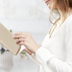 Bague Florentina Or Blanc Rubis Et Diamant - Bagues Femme   Marc Orian