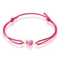 Bracelet Axelle Coeur Liberty Or Jaune - Bracelets cordons Enfant | Marc Orian