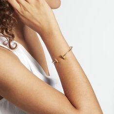 Bracelet Jonc Tullia Argent Jaune - Bracelets fantaisie Femme | Marc Orian