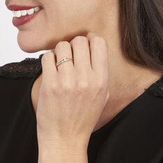 Bague Giusta Or Tricolore Diamant - Bagues Solitaire Femme | Marc Orian