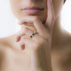 Bague Bryanna Or Bicolore Diamant - Bagues fiançailles Femme | Marc Orian