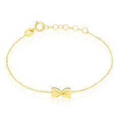 Bracelet Evonne Noeud Or Jaune - Bracelets chaînes Enfant | Marc Orian