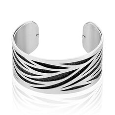 Bracelet Jonc Acier Blanc - Bracelets jonc Femme | Marc Orian