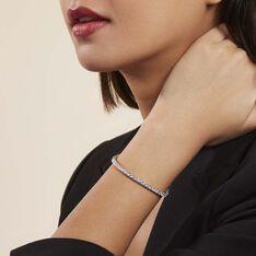 Bracelet Elios Argent Blanc Oxyde De Zirconium - Bracelets chaînes Femme   Marc Orian