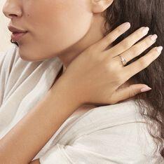 Bague Cyranna Or Blanc Diamant - Bagues Femme   Marc Orian
