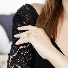 Bague Resli Plaque Or Jaune - Bague fantaisie Femme   Marc Orian