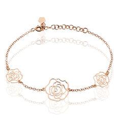 Bracelet Margotte Argent Rose - Bracelets chaînes Femme | Marc Orian