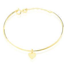 Bracelet Jonc Ida Coeur Or Jaune - Bracelets jonc Enfant | Marc Orian