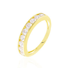Bague Davila Or Jaune Oxyde De Zirconium - Alliances Femme | Marc Orian