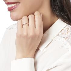 Solitaire Macy Or Rose Crante Diamant - Bagues Solitaire Femme | Marc Orian