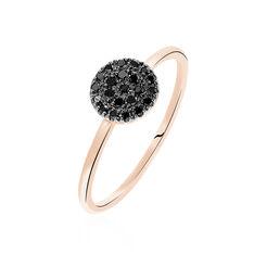 Bague Or Rose Aurea Diamant - Bagues Femme | Marc Orian