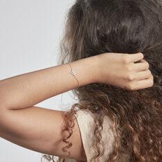Bracelet Lubomila Argent Blanc Oxyde De Zirconium - Bracelets chaînes Femme   Marc Orian