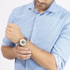 Montre Fossil Grant Automatique Beige - Montres automatique Homme   Marc Orian