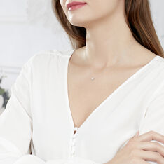 Collier Dream Or Blanc Diamants - Parure de mariage Femme | Marc Orian