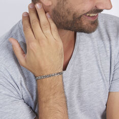 Bracelet Frederic Acier Blanc - Bracelets chaînes Homme | Marc Orian