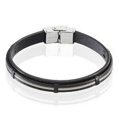 Bracelet Leo Acier Blanc - Bracelets Homme | Marc Orian