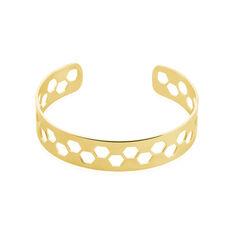 Bracelet Jonc Acier Jaune - Bracelets jonc Femme | Marc Orian