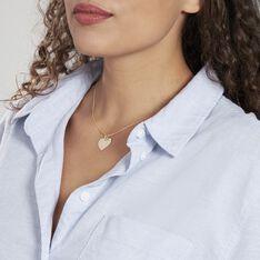Pendentif Sirona Coeur Gravable Or Jaune - Pendentifs Femme | Marc Orian