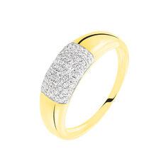 Bague Auriola Or Jaune Diamant - Bagues Femme   Marc Orian