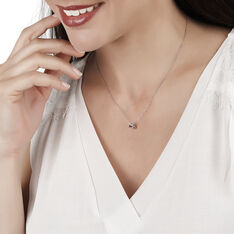 Collier Constellation Or Blanc Diamant - Colliers Femme | Marc Orian
