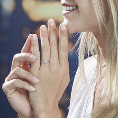Bague Louisanna Or Blanc Diamant - Parure de mariage Femme | Marc Orian