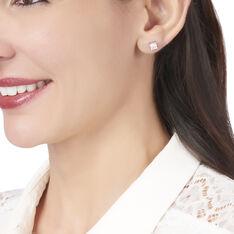 Boucles D'oreilles Argent Oxyde - Boucles d'oreilles Pendantes Femme | Marc Orian