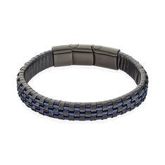 Bracelet Jourdan Homme Acier Plaque - Bracelets Homme   Marc Orian