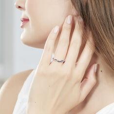 Bague Sofia Or Blanc Saphir Et Diamant - Bagues Femme | Marc Orian
