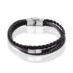 Bracelet Romain Acier Blanc - Bracelets Homme | Marc Orian