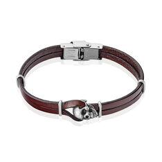 Bracelet Achil Acier Blanc - Bracelets Homme   Marc Orian