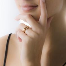 Bague Ana-lou Plaque Or Jaune Oxyde De Zirconium - Bague fantaisie Femme   Marc Orian