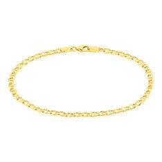 Bracelet Capucin Maille Marine Plate Or Jaune - Bracelets mailles Femme | Marc Orian