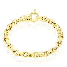 Bracelet Jodie Maille Jaseron Or Jaune - Bracelets mailles Femme | Marc Orian