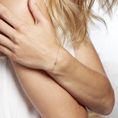 Bracelet Kadidjatou Or Rose Oxyde De Zirconium - Bracelets chaînes Femme | Marc Orian