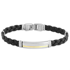 Bracelet Orietta Or Acier Bicolore - Bracelets Homme | Marc Orian