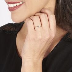 Bague Emilia Or Rose Diamant - Bagues Femme | Marc Orian