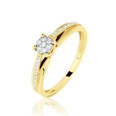 Bague Kate Or Jaune Diamant - Parure de mariage Femme   Marc Orian