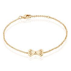 Bracelet Neva Plaque Or Jaune - Bracelets chaînes Femme | Marc Orian