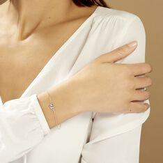 Bracelet Roma Argent Blanc Oxyde De Zirconium - Bracelets chaînes Femme | Marc Orian
