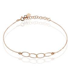 Bracelet Milla Argent Rose - Bracelets chaînes Femme | Marc Orian