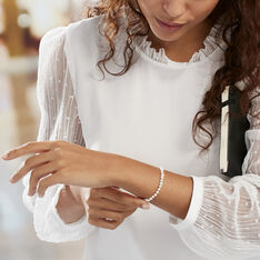 Bracelet Macy Or Jaune Perle De Culture - Bracelets chaînes Femme | Marc Orian